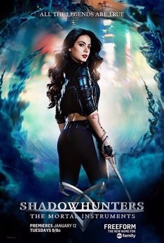 Isabelle Lightwood Shadowhunters TV Poster