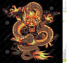 Chinese Dragon Royalty Free Stock Photo - Image: 35210625