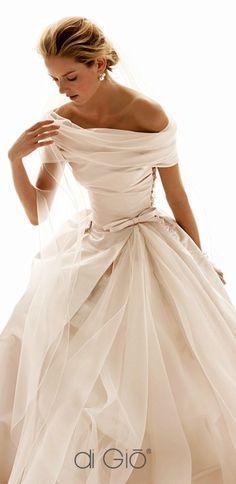 Vestidos de novia corte princesa | bodatotal.com | wedding dress, bodas, novias