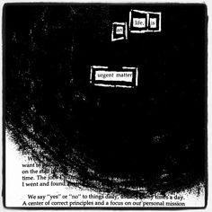 Throwback piece to over four years ago. Looks like a black hole sucking in the words.  #makeblackoutpoetry #blackoutpoetry #poetrycommunity #poetry #tbt