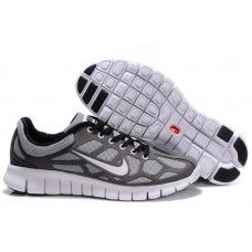 2011 New Arrival Nike Free Run   Mens Running Shoes - Grey/White/Black