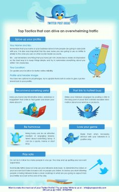 #Twitter post #ideas: #Top #tactics that can drive an overwhelming #traffic