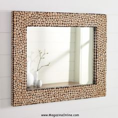 Creative and Unique DIY Mirror Frames Ideas