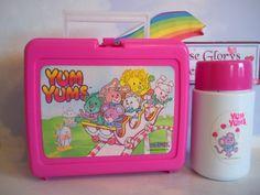 1980s Yum Yums Lunch Box