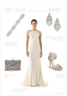 Art Deco Bride | Dress for the Wedding