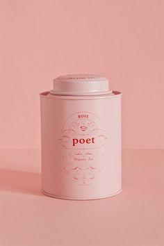 Studio Patten - Poet tea - World Brand Design Simple Packaging, Coffee Packaging, Pretty Packaging, Beauty Packaging, Brand Packaging, Packaging Design Tea, Product Packaging Design, Chocolate Packaging, Bottle Packaging