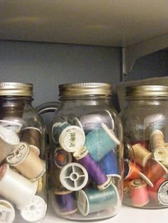 The Complete Guide to Imperfect Homemaking: {OrganizedHome} Day 30: My Craft Closet
