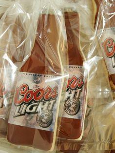 beer bottle cookies | Beer Cookies