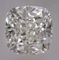1.54-Carat Cushion Modified Brilliant Cut Diamond    This Fancy-cut F-color, and VS2-clarity diamond comes accompanied by a diamond grading report from GIA  $11171.16