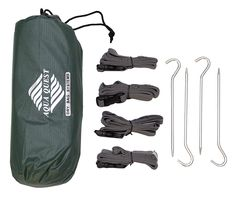 Aqua Quest Guide Tarp and Accessories Kit - 100% Waterproof - 10 x 7 ft Medium - Green * Check this awesome image  : Backpacking gear