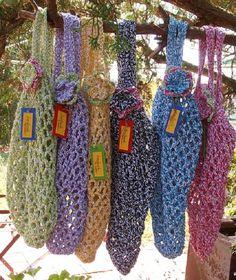Crochet Grocery Bag Free Pattern