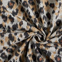 Leopard Print Sweatshirt Fabric – grey - Sweatshirt fabricsfavorable buying at our shop Sewing For Beginners, Printed Sweatshirts, Grey Sweatshirt, Fabric, Tejido, Grey Hoodie, Tela, Beginners Sewing, Cloths