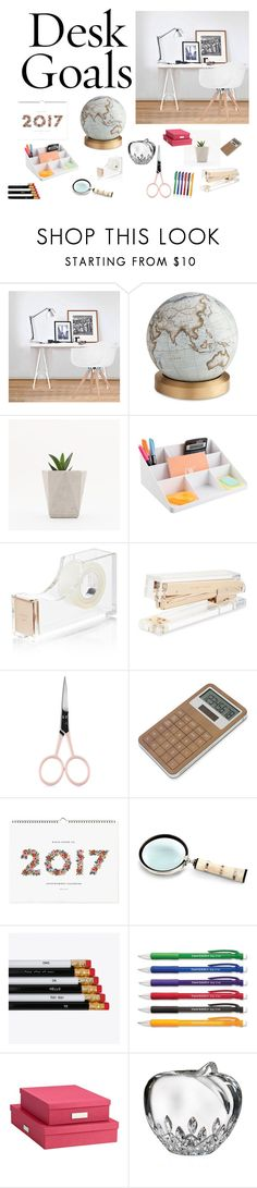 """uio"" by manaur06 ❤ liked on Polyvore featuring interior, interiors, interior design, home, home decor, interior decorating, Ciel, Bellerby & Co, Kate Spade and Anastasia Beverly Hills"