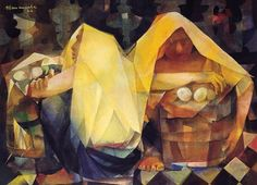 Find artworks by Vicente Manansala (Filipino, 1910 - on MutualArt and find more works from galleries, museums and auction houses worldwide. Modern Art, Contemporary Art, Filipino Art, Philippine Art, Philippines Culture, National Art, Spanish Artists, Mexican Art, Artists Like