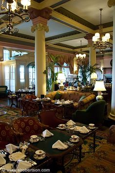 High Tea at the Fairmont Empress Hotel  Victoria, Vancouver Island