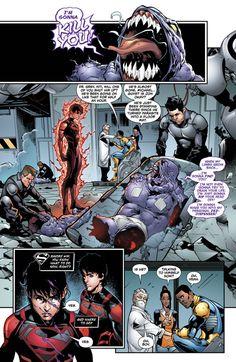 Superboy #32  Art by Jorge Jimenez