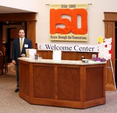 Envisionary Images Church Welcome Center Furniture And Retail Kiosks Library Pinterest