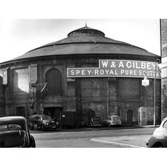 Roundhouse for the London and Birmingham Railway in Chalk Farm, London: the engine shed | RIBA