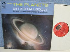 ASD 2301- Holst The Planets LP (UK Vinyl Stereo) Adrian Boult/Philharmonia | eBay