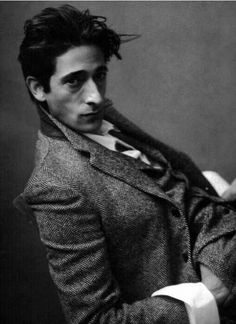 Adrien Brody. I'm a sucker for a big nose brown eyed boy.