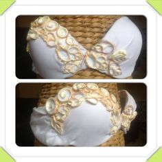 Cut shell Mermaid Bra | CaliforniaHulaCenter - Clothing on ArtFire