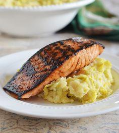 Corned Beef-Cured Atlantic Salmon #recipe