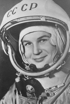 TODAY IN HISTORY: Soviet cosmonaut Valentina Tereshkova became the first woman in space. On June she soared to the heavens with the Vostok 6 mission and orbited the Earth 48 times, spending. Valentina Tereshkova, Today In History, Women In History, Rare Historical Photos, Historical Women, Space Race, Great Women, Amazing Women, Space Exploration