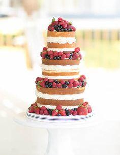 Naked Cake Wedding Victoria Sponge