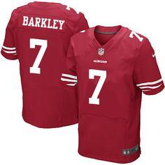 ec87f62b8fd Men s Nike San Francisco 49ers  7 Matt Barkley Elite Red Team Color NFL  Jersey