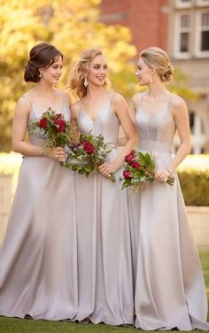 348d445315c A A-line Spaghetti Strap Floor-Length Bridesmaid Dress sold by Dreamprom.  Shop more products from Dreamprom on Storenvy the home of independent small  ...