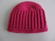 Ribbed Baby Hat Pattern | Busting Stitches