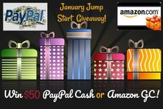 "Happy New Year! We sure know that this time of year, especially after the holiday season, people get into the winter time ""blues"" and need a good jump start to the new year. That is why were are here to bring you an exciting chance to win $50 cash via PayPal or a $50 Amazon …"
