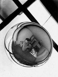 Marianne Brandt: Self Portrait, circa 1928/29 - From: Marianne Brandt Photography at the Bauhaus, Elisabeth Wynhoff Ed. Ostfildern-Ruit:. Hatje Cantz, 2003