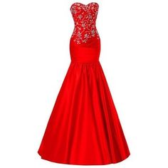 SimpleDressUK Women's Elegant Beaded Prom Gowns Mermaid Sweetheart Evening Dresses