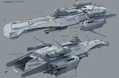 Unique carrier design.  Like the open hangar area in the rear.