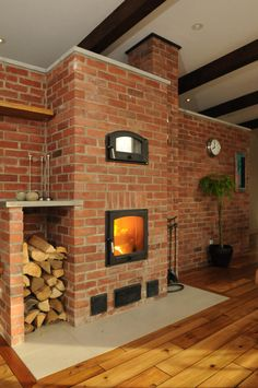 Stoves, Architecture, Fireplaces, Foyer, Barbecue, Building A House, Construction, Wood, Design