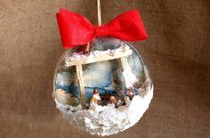 Risultati immagini per barattoli in vetro natalizi fatti a mano
