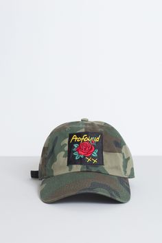 War of Roses Strapback in Authentic Camo