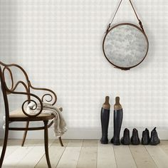 The wallpaper Ester blå - from Sandberg is wallpaper with the dimensions m x m. The wallpaper Ester blå - belongs to the popular wallpap Decor, Hanging Chair, Wallpaper, Classic Wallpaper, Cream Wallpaper, White Wallpaper, Popular Wallpaper, Tartan Wallpaper, Wall Wallpaper