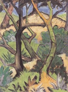 Otto Mueller. Landschaft