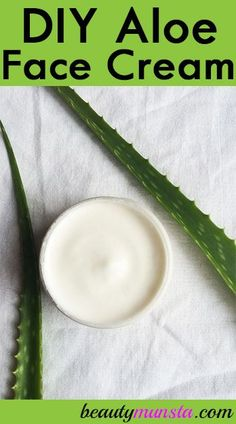 Get to know how to make face cream with aloe vera, a soothing skin care ingredient! Homemade Skin Care, Diy Skin Care, Skin Care Tips, Aloe On Face, Aloe Vera For Face, Aloe Vera Face Cream, Uses For Aloe Vera, Diy Face Cream For Acne, Diy Aloe Vera Gel