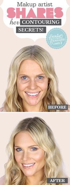 Makeup Artist Shares Her Contouring Secrets!