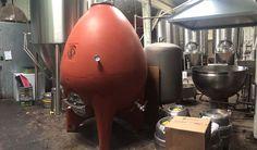 Concrete Beer Tank, Egg Shape by Sonoma Cast Stone Cast Stone, Egg Shape, Beer Brewing, Craft Beer, Tanks, Concrete, It Cast, Eggs, Shapes