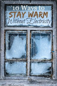 Use these 10 ways to keep warm without electricity the next time your power goes out. It's important to be prepared and stay warm.