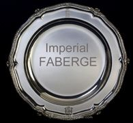Grand Duke Peter Nikolaevich Faberge Silver Dish