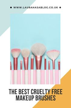 #crueltyfree #makeupbrushes #beauty #kindtoanimals #vegan #crueltyfreebeauty #makeuptools #laurahasablog