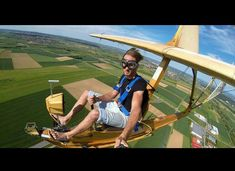 Have you soared today? Allow your inner pilot to take flight with these fascinating adrenaline-riddled shots of aircraft in action: Ultralight Plane, Jm Barrie, Airplane Flying, Flying Car, Flying Vehicles, Flying Drones, Experimental Aircraft, Aircraft Design, Rc Model