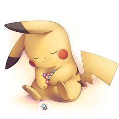 Cute Pikachu   cute mouse pikachu pokémon sleeping