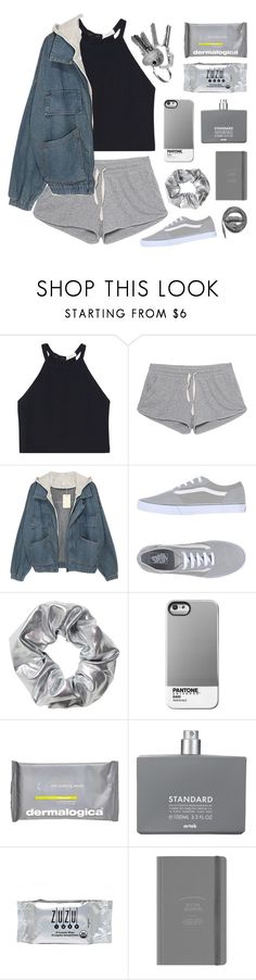 """""""SAY YOU'LL NEVER LET ME DOWN"""" by audwepaudwe ❤ liked on Polyvore featuring A.L.C., American Vintage, Vans, Monki, Case Scenario, Dermalogica, Comme des Garçons, INC International Concepts and Urbanears"""