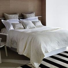 Difference Between Shams, European Shams, Cushions, and Pillows: Glamour.com